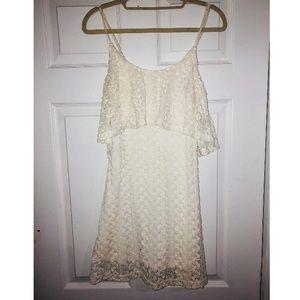 Dresses & Skirts - Little white knit dress